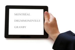 Montréal - Drummondvile - Granby