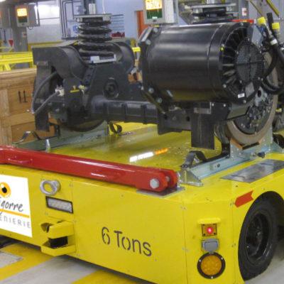 AVG chariot manutention bogie ferroviaire