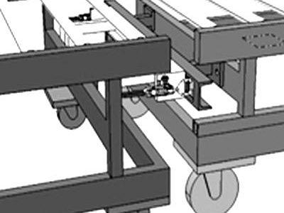 Table d'assemblage et de travail