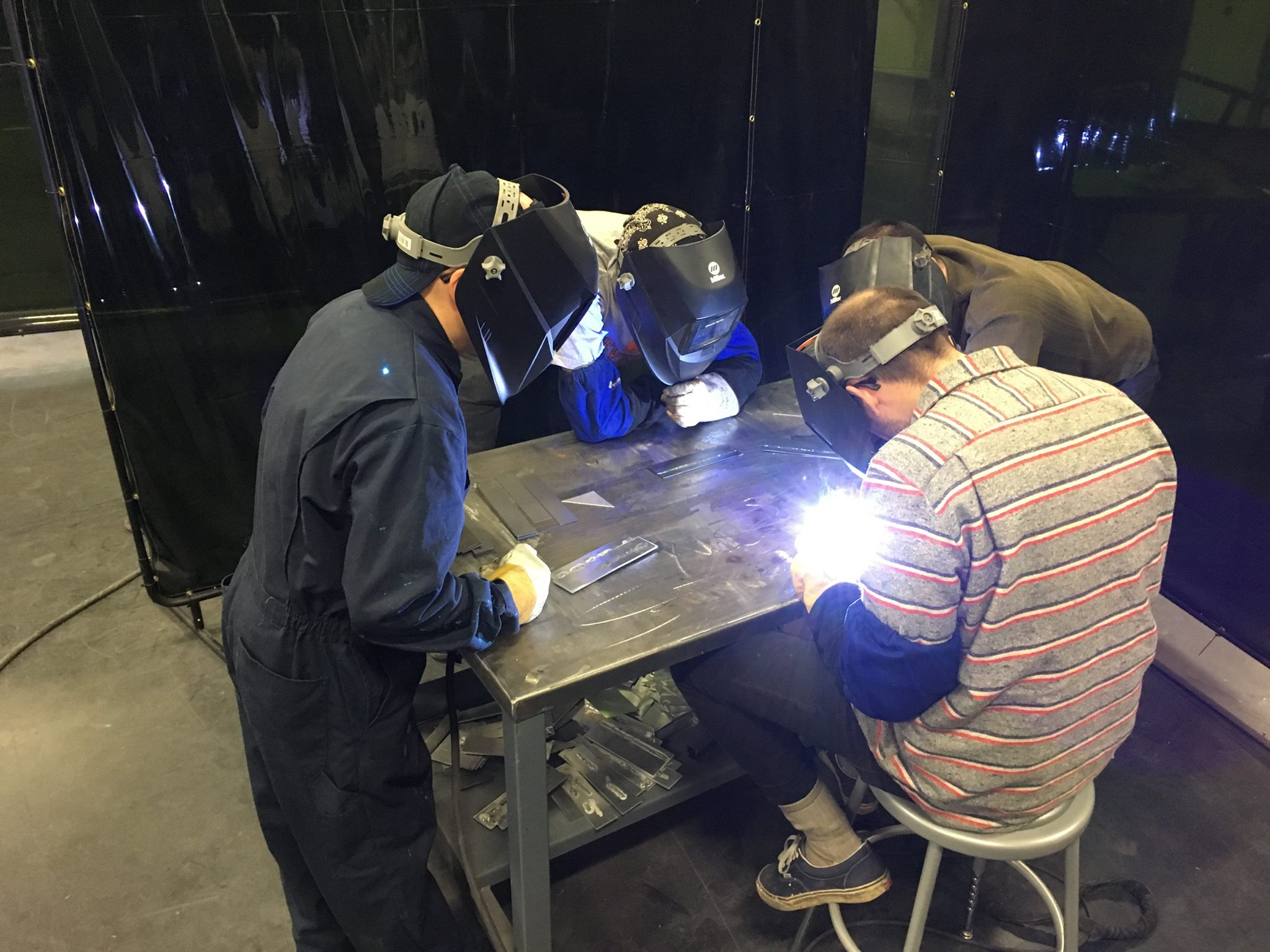Welding Mechanical Fabrication Space manufactures